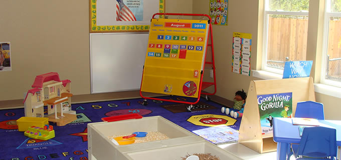Our fully-equipted preschool classroom
